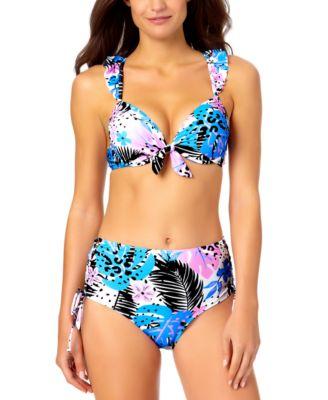 Juniors Ruffle Bikini Top, Created for Macy's