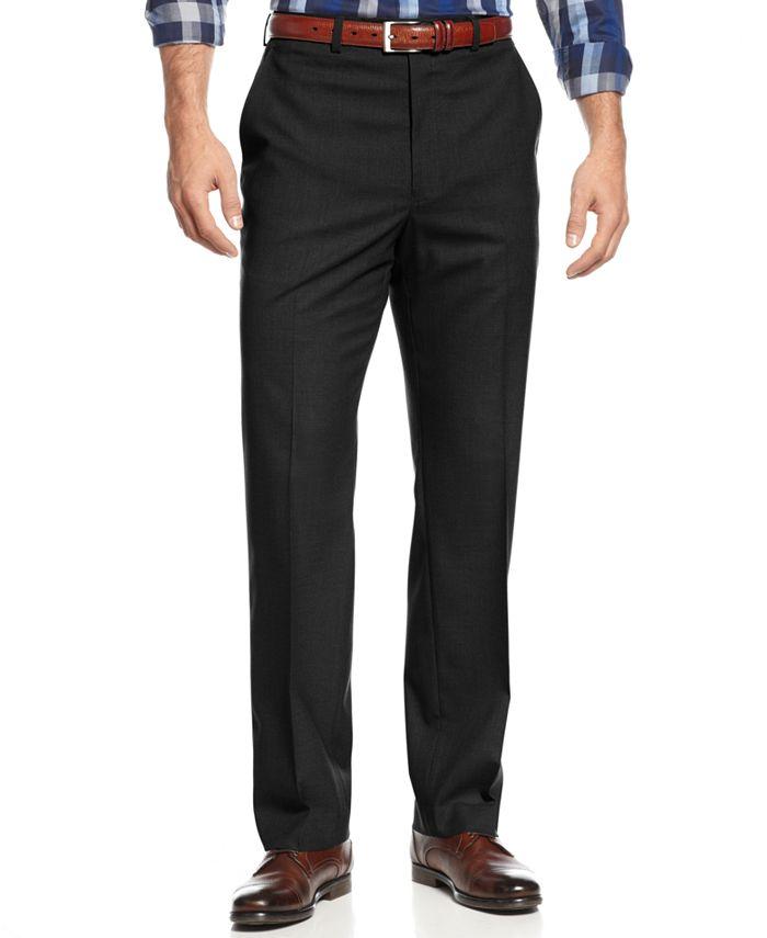 Michael Kors - Flat-Front Dress Pants