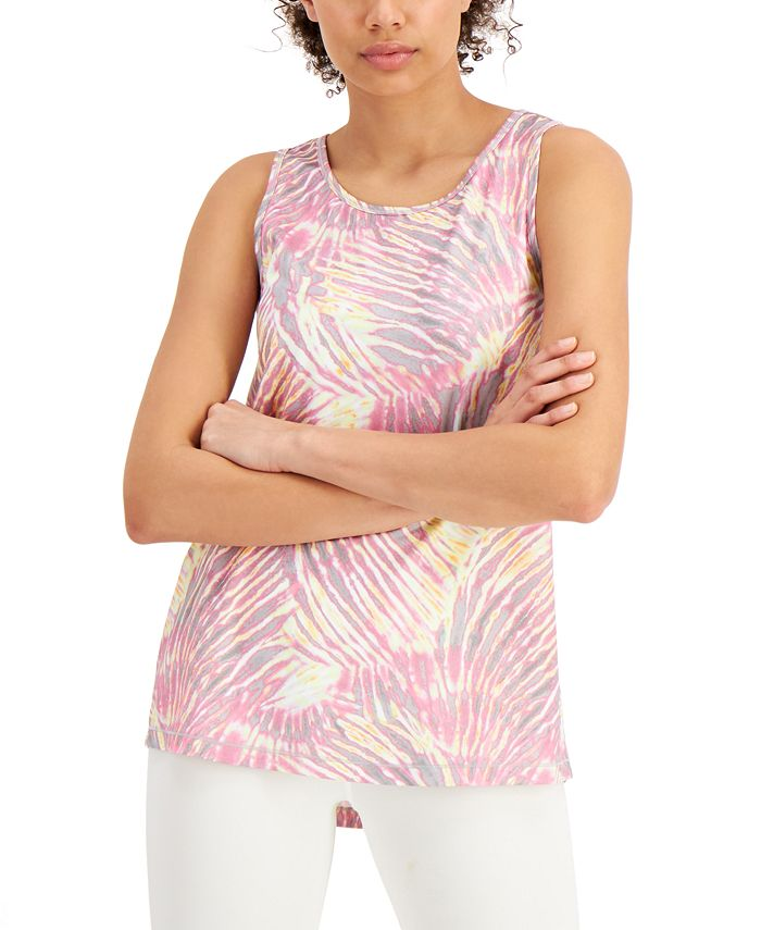 Ideology - Tropical Fusion Printed Tank Top
