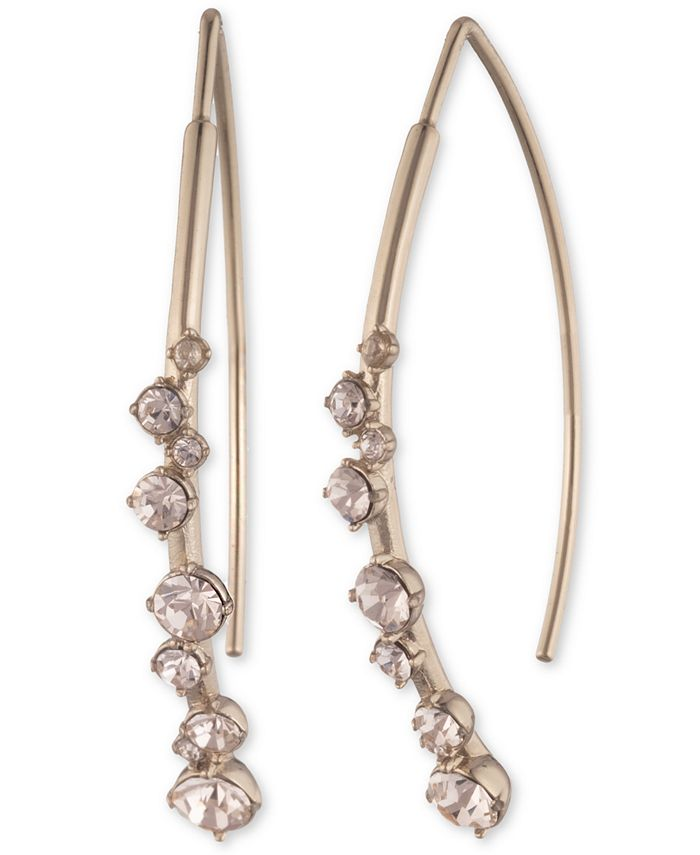 Givenchy - Crystal Stone Threader Earrings