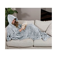 Ella Jayne Wearable Weighted Snuggle Blanket 75x50-inch Deals