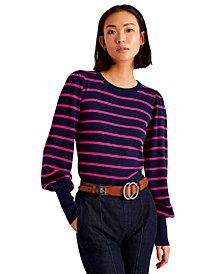 Lauren Ralph Lauren Crewneck Striped Sweater