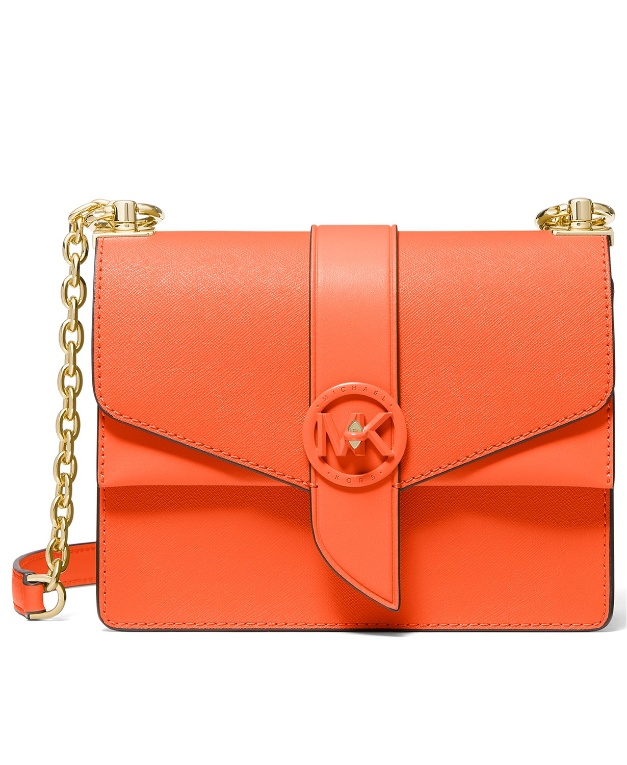 Michael Kors Greenwich Leather Convertible Crossbody $207.99