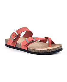 White Mountain Gracie Women's Footbed Sandals