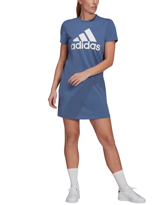 adidas - Logo Crewneck Cotton Dress