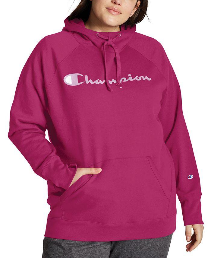 Champion - Plus Size Logo Hoodie