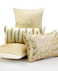 inc international concepts incline gold decorative pillow collection - Gold Decorative Pillows
