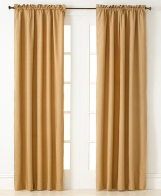 "Miller Curtains Window Treatments, Winston 40"" x 84"" Energy Saving Panel"