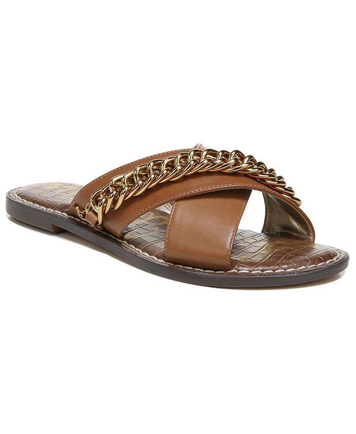 Sam Edelman - Women's Gabrie Crisscross Chain Sandals