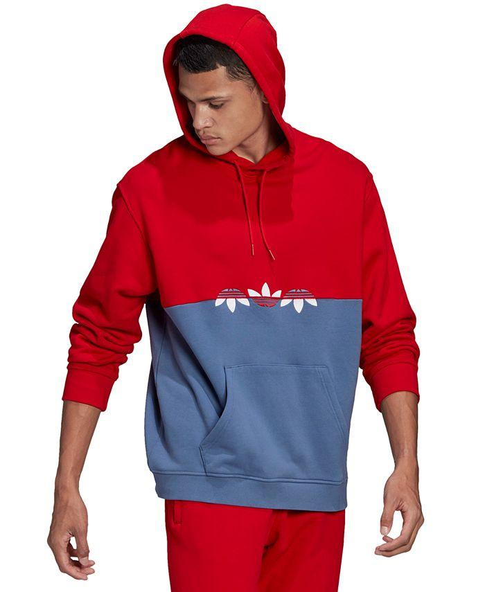 adidas - Men's Sliced Trefoil Pullover Hoodie
