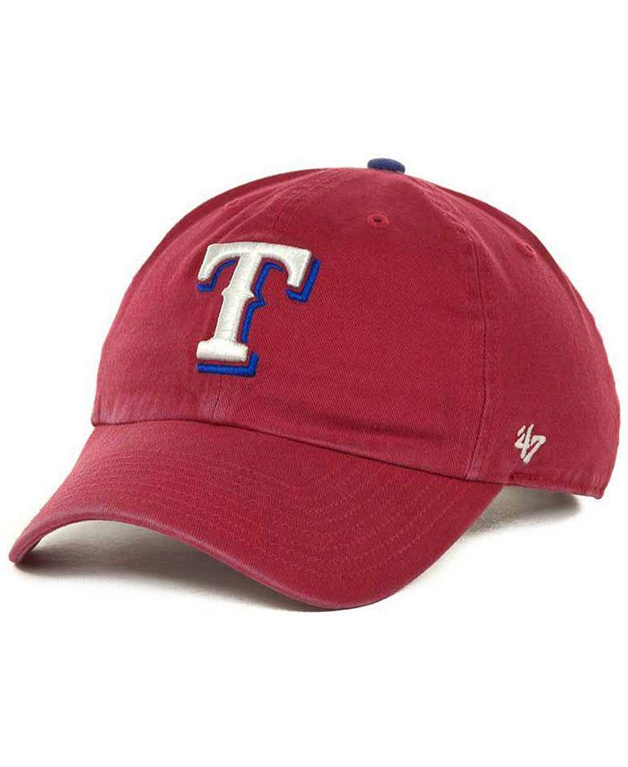 '47 Brand - Texas Rangers Clean Up Hat