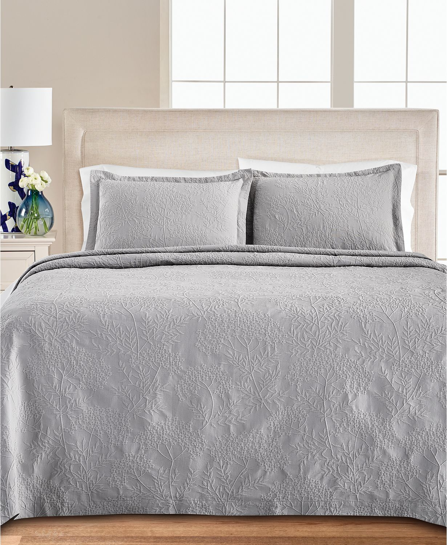 Martha Stewart matelasse bedspread