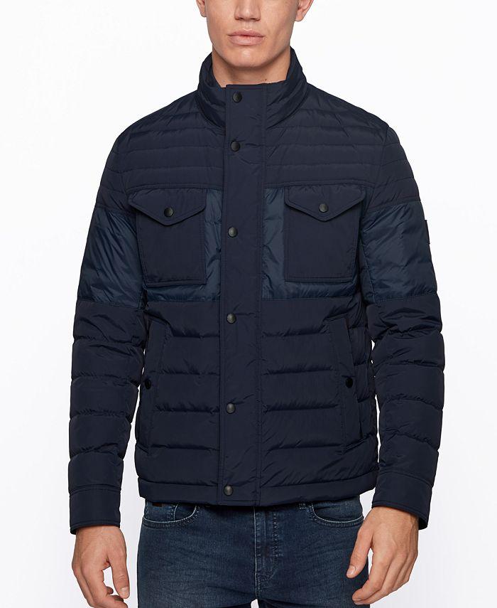 Hugo Boss - Men's Ovano Slim-Fit Jacket