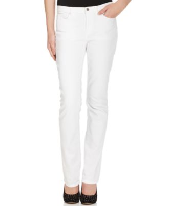 DKNY Jeans Jeans, Soho Straight, White Wash