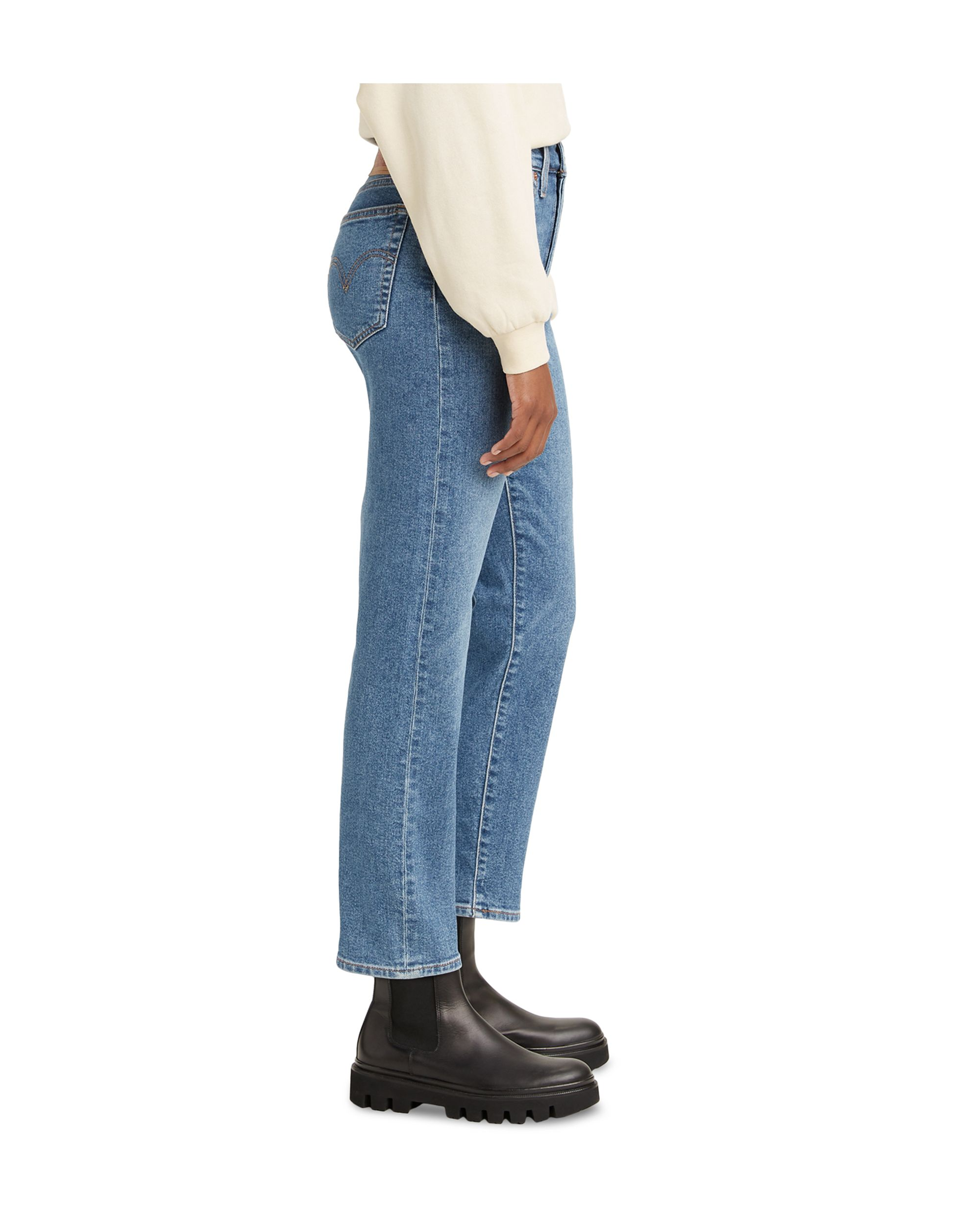 Women\'s Wedgie Straight-Leg Cropped Jeans Love In Th