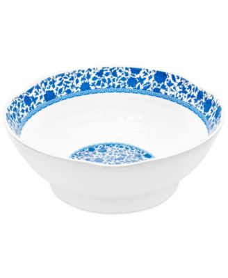 "QSquared Q Luxe Heritage 12"" Melamine Serve Bowl"