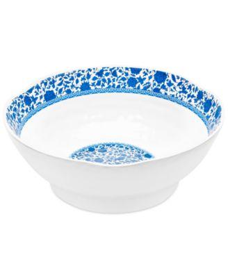 """QSquared Q Luxe Heritage 12"""" Melamine Serve Bowl"""