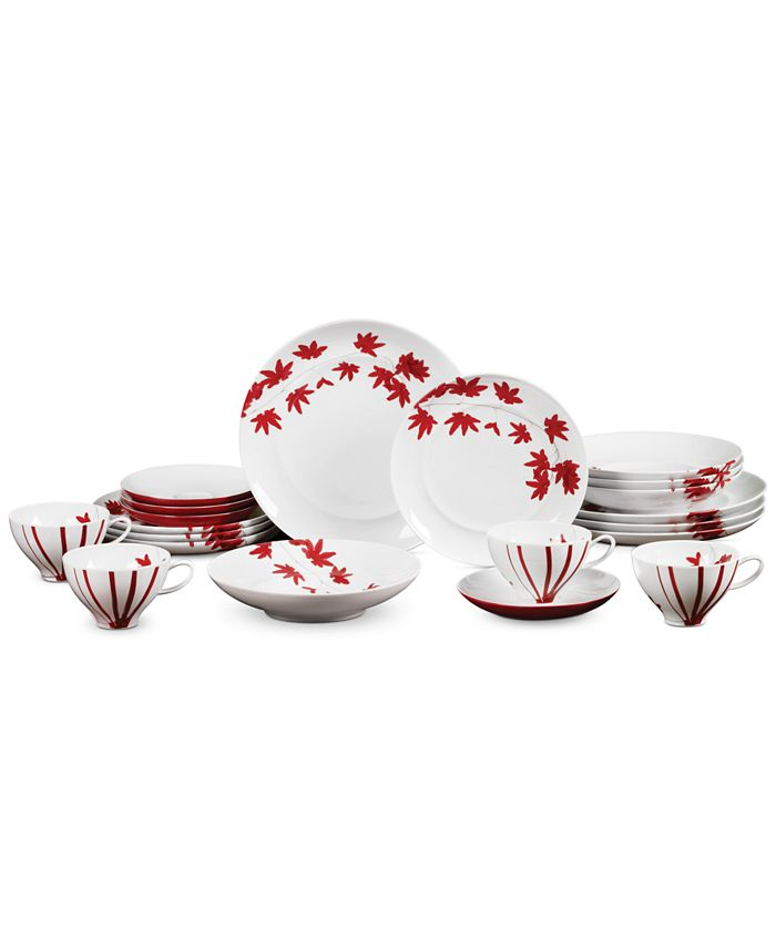 Mikasa - Pure Red 20-Piece Place Setting