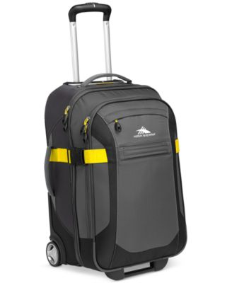 "High Sierra Sportour 22"" Rolling Carry On Expandable Suitcase"