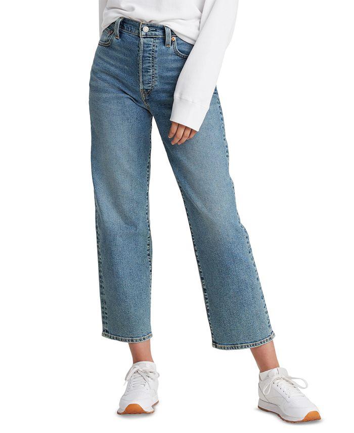 Levi's - Ribcage Straight-Leg Ankle Jeans