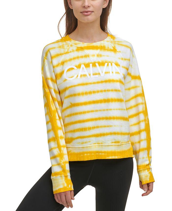 Calvin Klein - Logo Tie-Dyed Sweatshirt