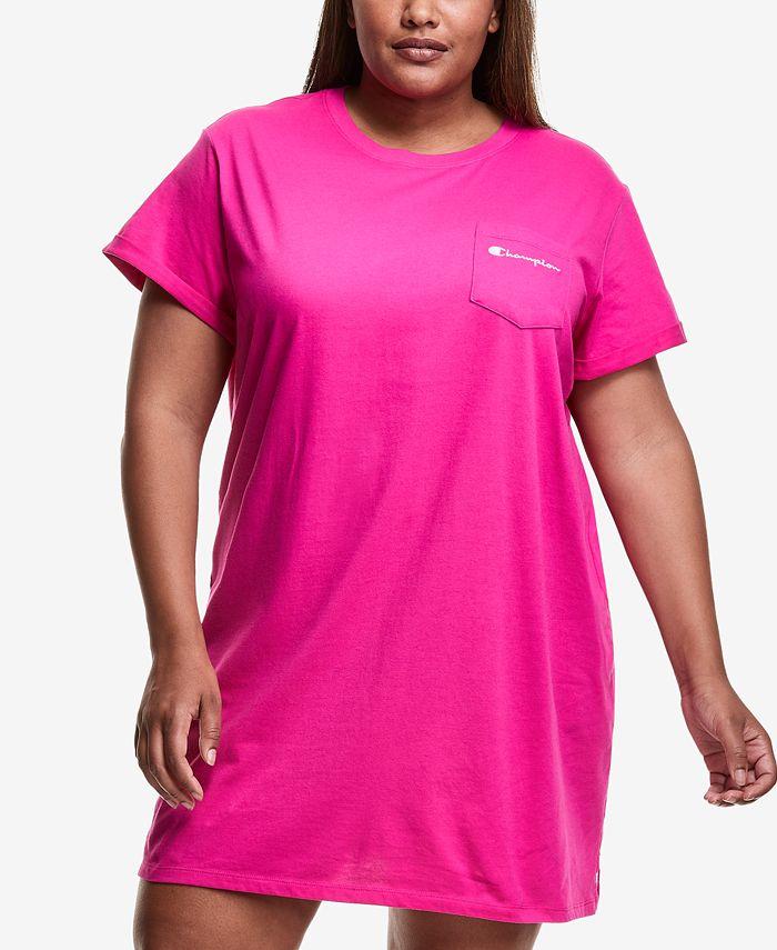 Plus-Size Women's T-Shirt Dress