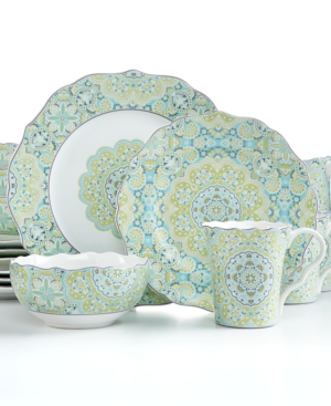 222 Fifth Lyria Teal 16-Piece Set $ 109.99