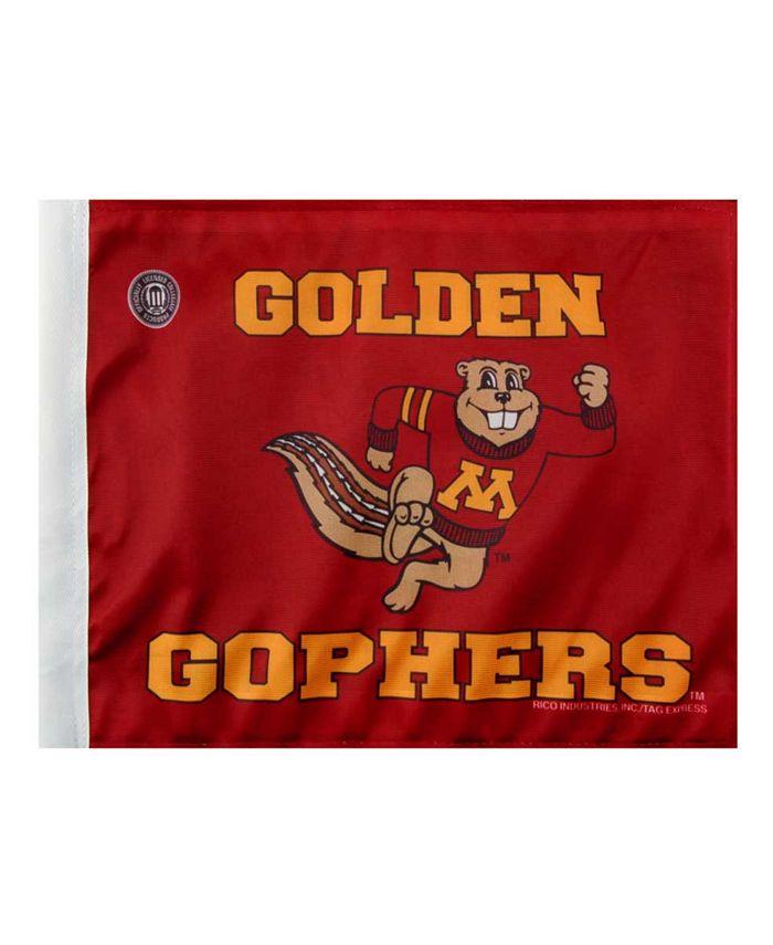 Rico Industries - Minnesota Golden Gophers Car Flag
