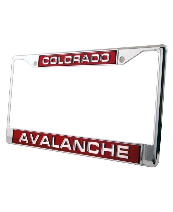 Rico Industries - Colorado Avalanche Laser License Plate Frame
