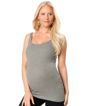 A Pea In The Pod Ribbed Maternity Tank Top plus size,  plus size fashion plus size appare