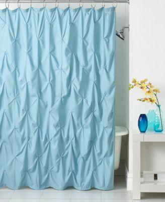 Park B. Smith Pintuck Shower Curtain