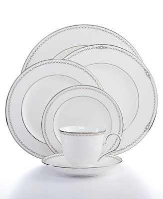 Lenox Pearl Platinum Collection Fine China Macy S