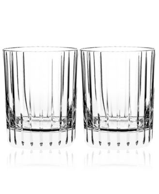 Baccarat Set of 2 Harmonie Double Old-Fashioned Glasses
