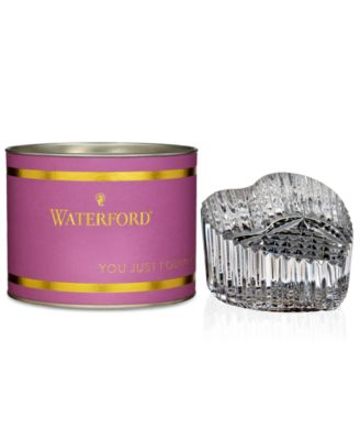 Waterford Giftology Heart Paperweight