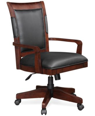 Goodwin Home Office Desk Chair Furniture Macy 39 S