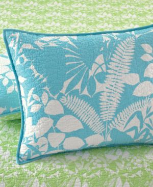 Martha Stewart Collection Paradise Palm Standard Sham Bedding
