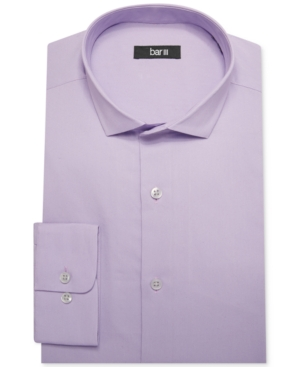 Bar Iii Slim-Fit Pale Purple Solid Dress Shirt $ 55.00