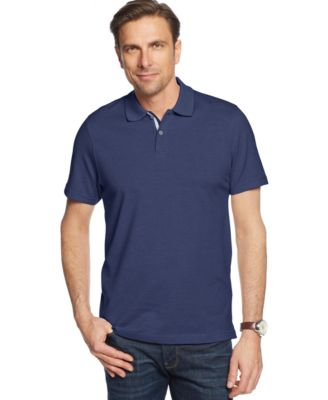 Image of Tasso Elba Signature Textured Polo