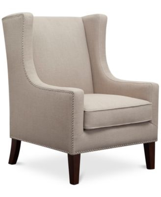 Sloane Fabric Accent Chair, Direct Ship