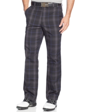 Greg Norman for Tasso Elba Plaid Clubhouse Golf Pants $21.99 AT vintagedancer.com