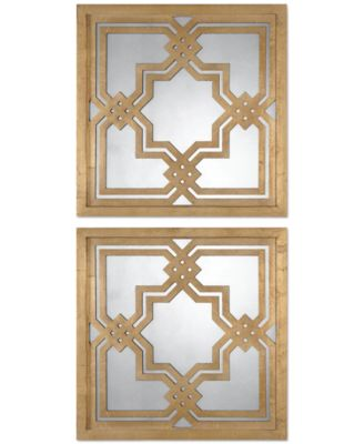 Uttermost Piazzale Mirrors, Set of 2