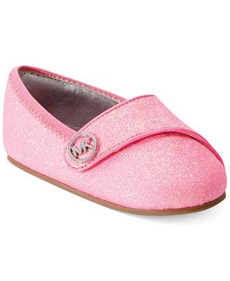 michael michael kors baby grace glitter shoes