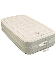 "Aerobed Premier 2-Layer 16"" Twin Air Mattress with Built-In Pump"