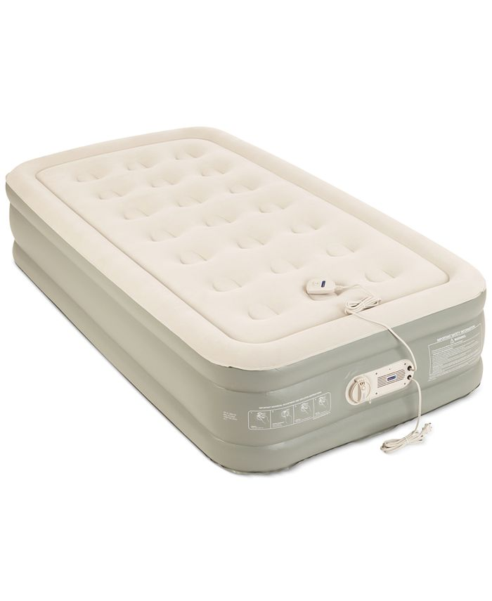 "Aerobed - Premier 2-Layer 16"" Twin Air Mattress with Built-In Pump"
