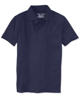 Image of Nautica Boys' Uniform Performance Polo