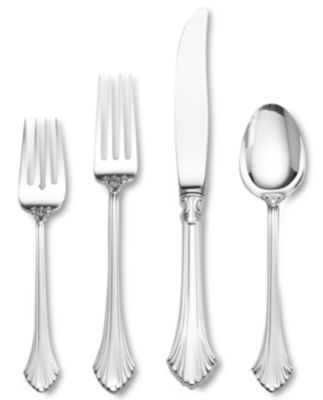 "Wallace ""French Regency"" Sterling Silver 4-Piece Place Setting"