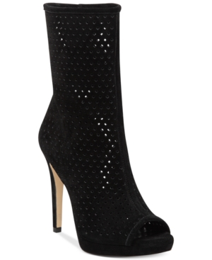 BCBGeneration Gretchen Perforated Booties Women's Shoes