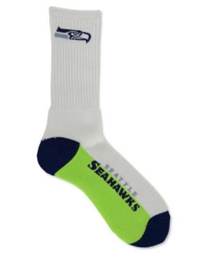 For Bare Feet Seattle Seahawks Crew Socks