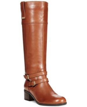 Bandolino Carlotta Tall Riding Boots - A Macys Exclusive Womens Shoes