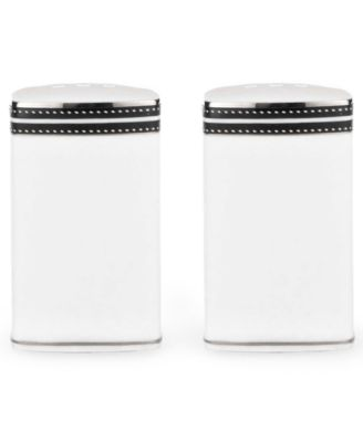 kate spade new york Dinnerware, Union Street Salt and Pepper Shakers